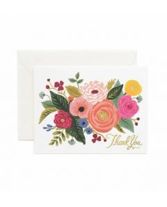 Rifle Paper Karte gct033 juliet rose thank you
