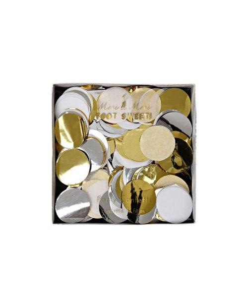 merimeri party confetti metallic 452106a