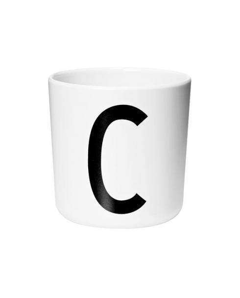 Design Letters Melamin cups c