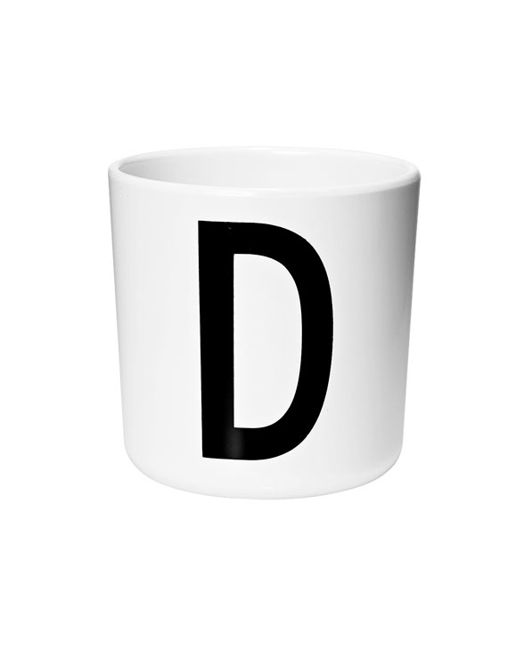 Design Letters Melamin cups d