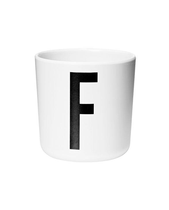 Design Letters Melamin cups f