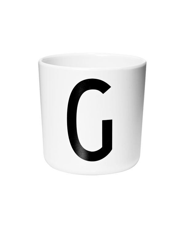 Design Letters Melamin cups g
