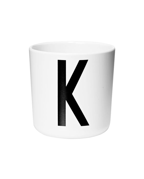 Design Letters Melamin cups k