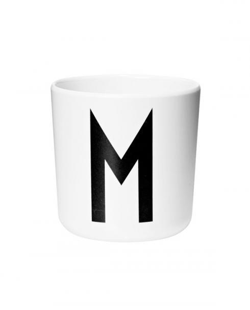 Design Letters Melamin cups m