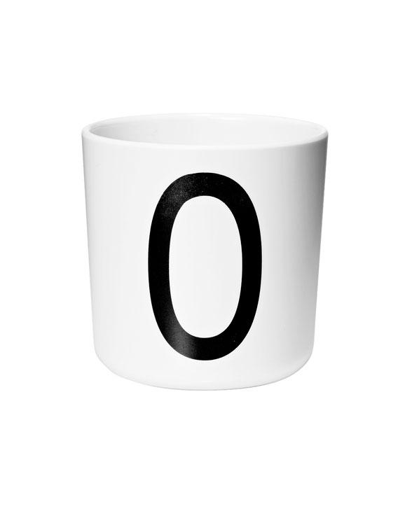Design Letters Melamin cups o
