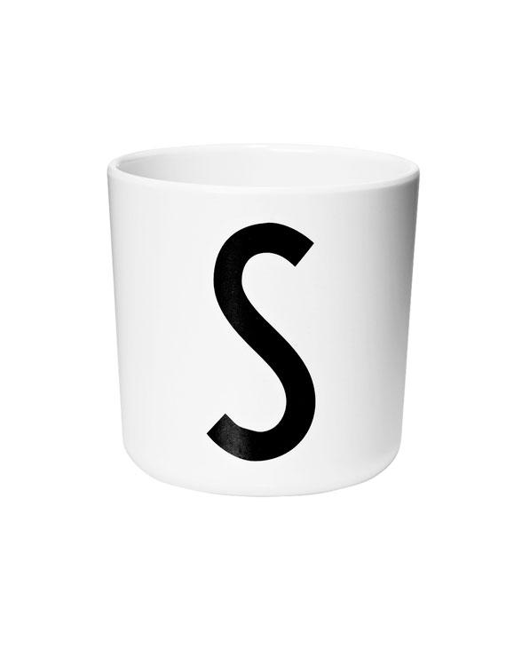 Design Letters Melamin cups s