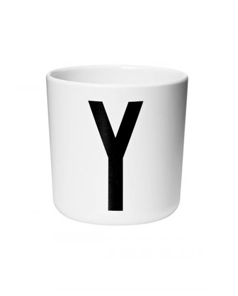 Design Letters Melamin cups y