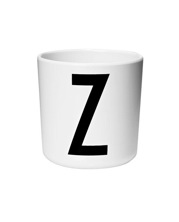 Design Letters Melamin cups z