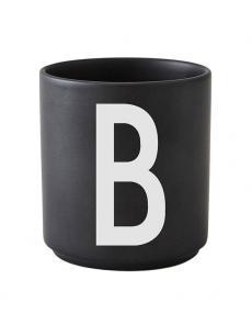 Design Letters black cups aj b 1