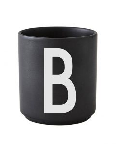 Design Letters black cups aj b 1