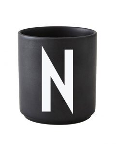 Design Letters black cups aj n 1