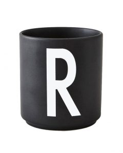 Design Letters black cups aj r 1