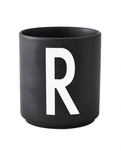 Design Letters black cups aj r 1