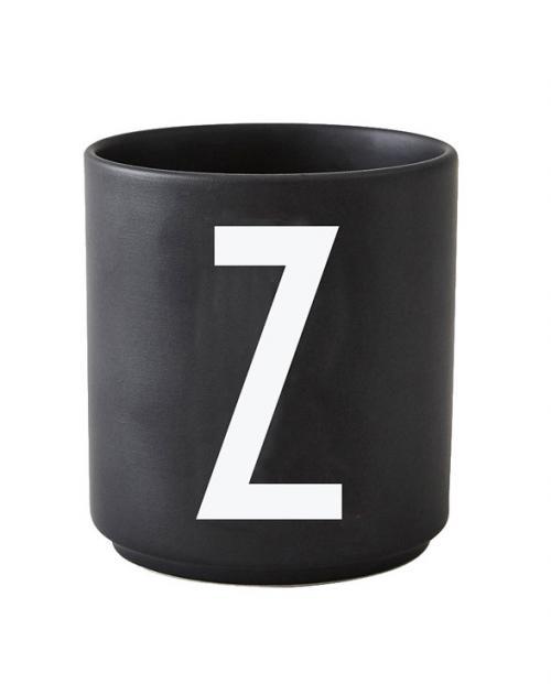 Design Letters black cups aj z 1