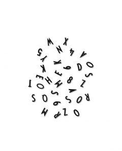 Design Letters black letters