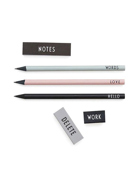 Design Letters pencilset
