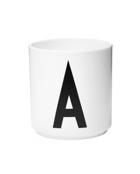 Design Letters porcelain cups a
