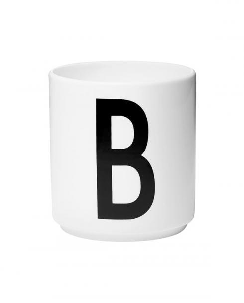 Design Letters porcelain cups b