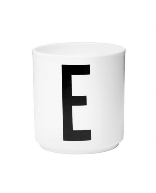 Design Letters porcelain cups e