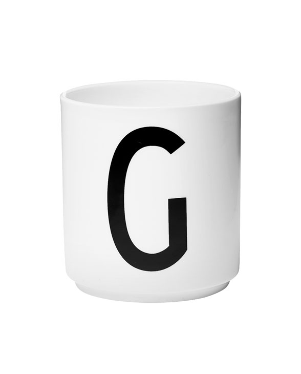 Design Letters porcelain cups g