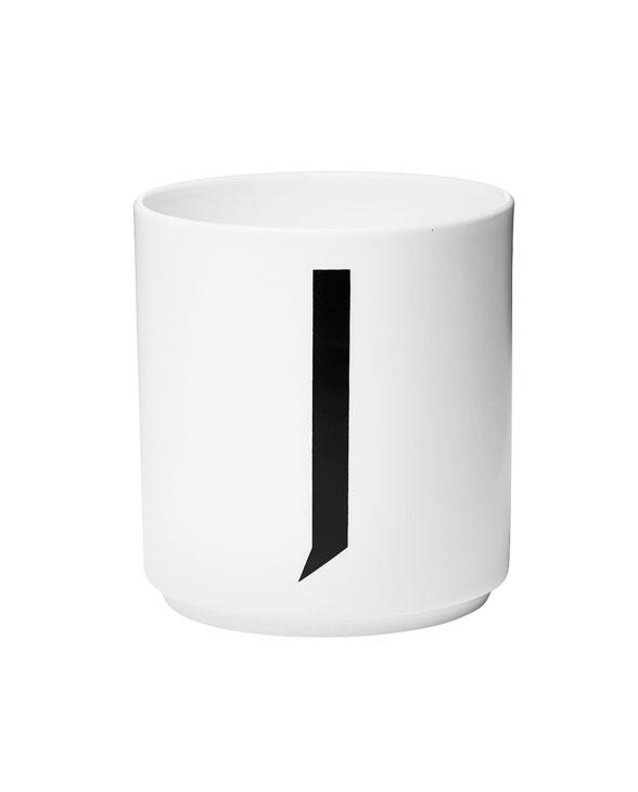 Design Letters porcelain cups j