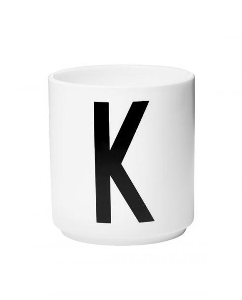 Design Letters porcelain cups k