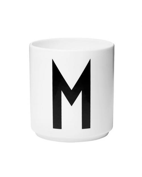 Design Letters porcelain cups m