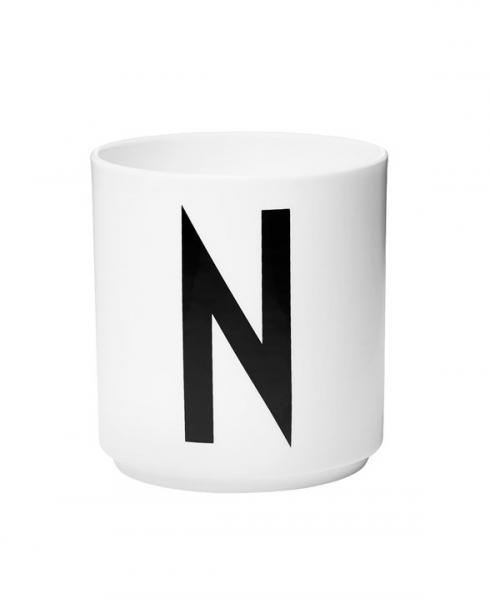 Design Letters porcelain cups n