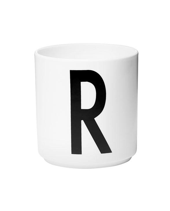 Design Letters porcelain cups r