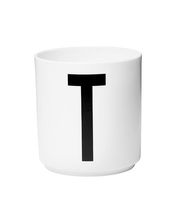 Design Letters porcelain cups t