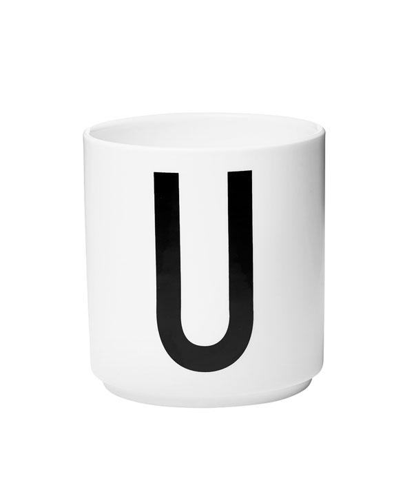 Design Letters porcelain cups u