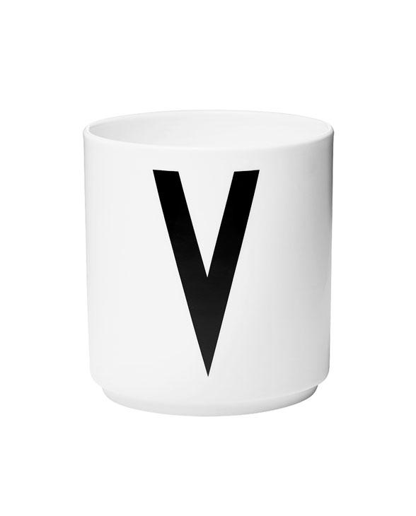 Design Letters porcelain cups v