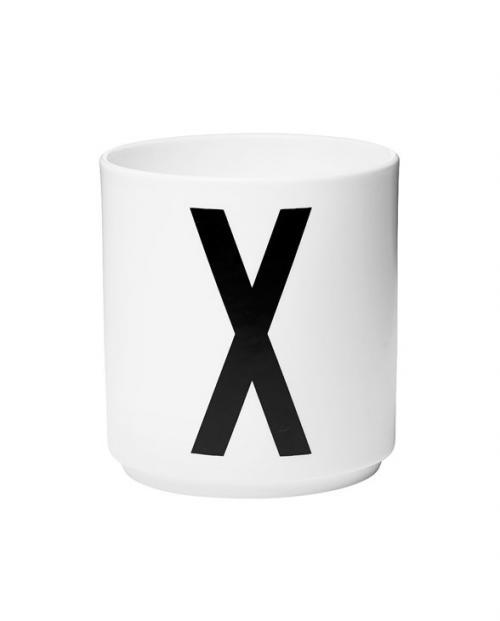 Design Letters porcelain cups x