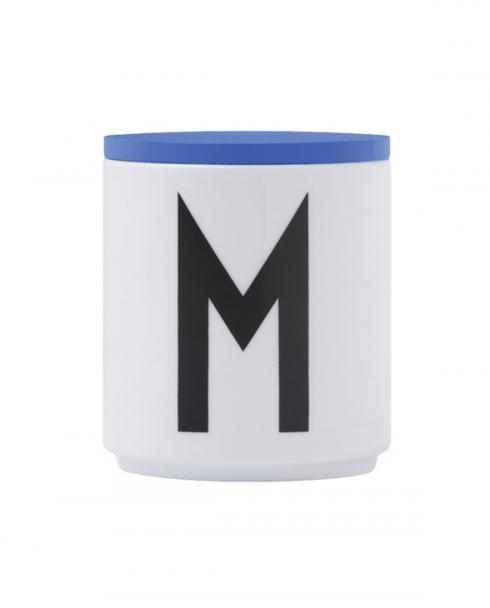 Design Letters wooden lid blue