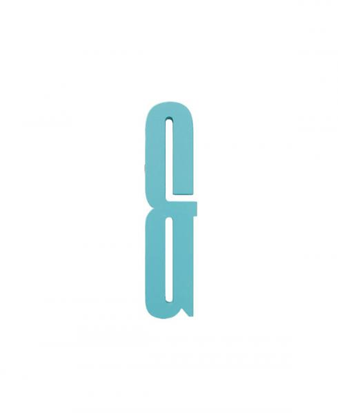 Design Letters woodenletters   turquoi