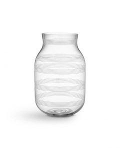 Kaehler Design 16103 Omaggio vase transparent H280