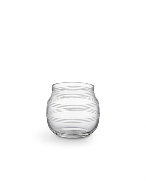 Kaehler Design 16106 Omaggio tealight holder transparent H75