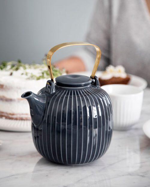 Kaehler Design HH Teapot Antracite