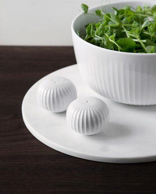 Kaehler Design Hammershi Salt and Pepper Shakers White 1