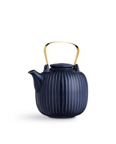 Kaehler Design Hammershi tea pot indigo