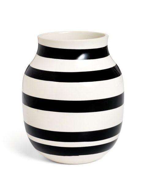 Kaehler Design Omaggio Vase H200 Black 11962