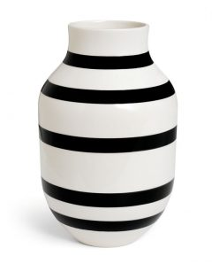 Kaehler Design Omaggio Vase H305 Black 11679