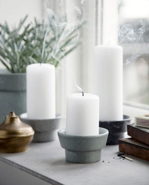 Kaehler Design Ombria candle holder mix H50