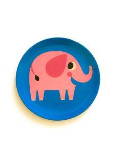 Omm Design Melamin Teller Elefant