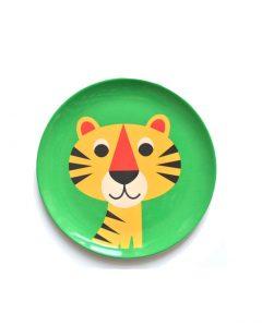 Omm Design Melamin Teller Tiger