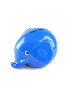 Omm Design Norsu Elefant Spardose klein blau