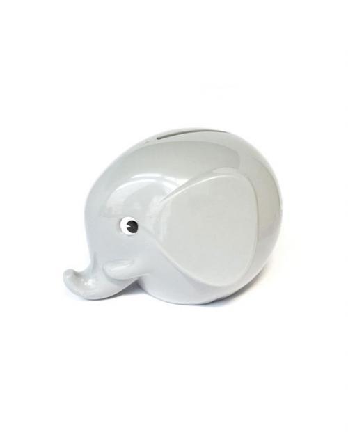 Omm Design Norsu Elefant Spardose klein grau