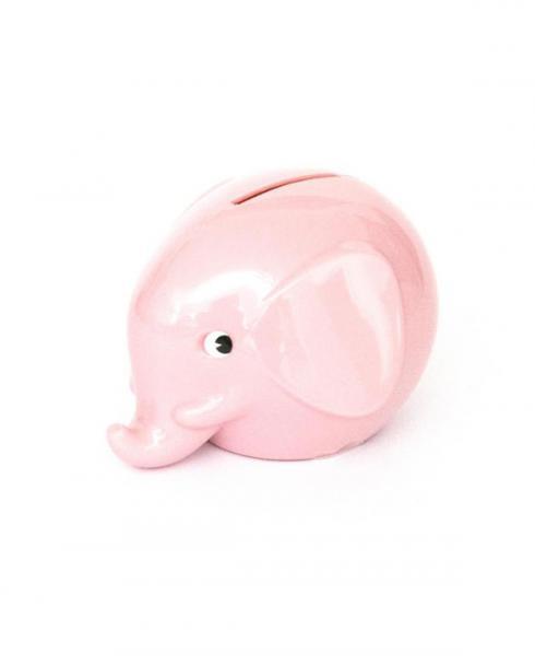 Omm Design Norsu Elefant Spardose klein rosa