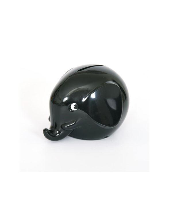 Omm Design Norsu Elefant Spardose klein schwarz