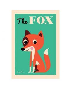 Omm Design Poster Fox